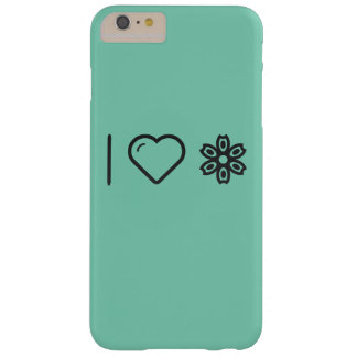 I Heart Flower Spotters Barely There iPhone 6 Plus Case