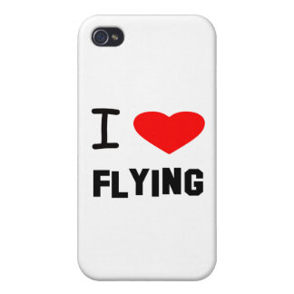I Heart flying iPhone 4/4S Covers