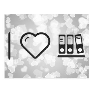 I Heart Folders Compiles Postcard