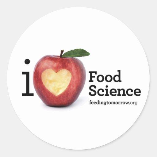 """I Heart Food Science"" Sticker"