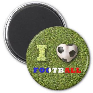 I Heart Football France - Magnet