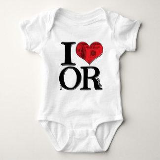 I (heart) fORtune Baby Bodysuit