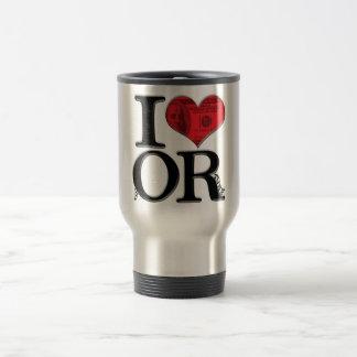 I (heart) fORtune Travel Mug
