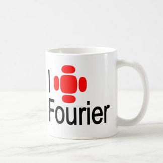 I heart Fourier Classic White Coffee Mug