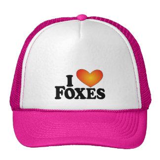 I (heart) Foxes - Lite Products Trucker Hat