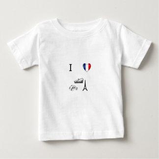 I Heart France Baby T-Shirt