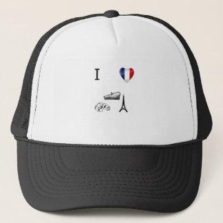 I Heart France Trucker Hat