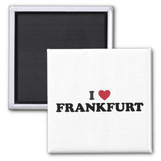I Heart Frankfurt Germany Fridge Magnets