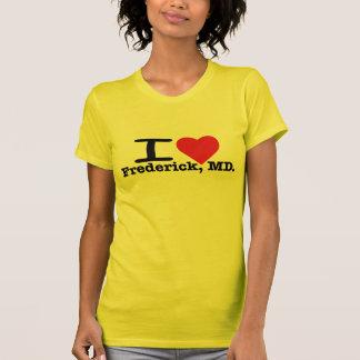 I Heart Frederick Ladies Tee Shirt