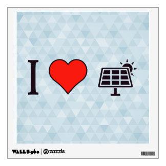 I Heart Free Electricity Wall Sticker