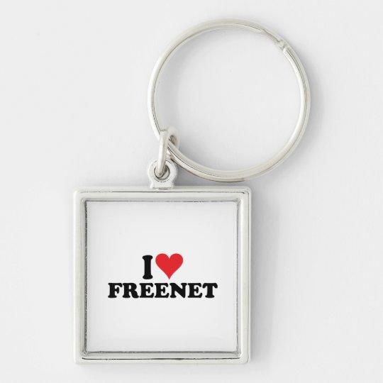 I Heart Freenet 1 Keychain