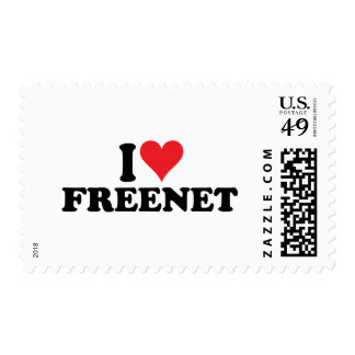 I Heart Freenet 1 Postage Stamp
