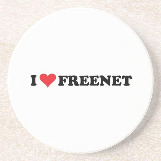 I Heart Freenet 2 Coasters
