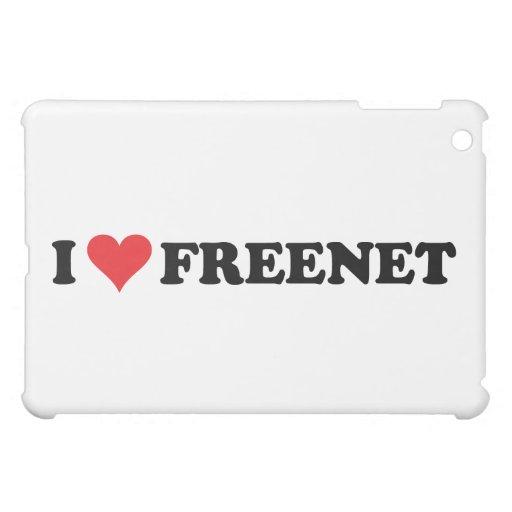 I Heart Freenet 2 iPad Mini Covers