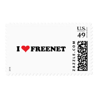 I Heart Freenet 2 Postage Stamp