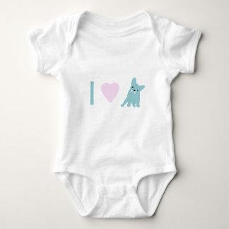 I Heart Frenchy Baby Bodysuit