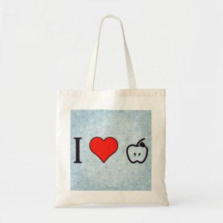 I Heart Freshly Cut Apples Tote Bag