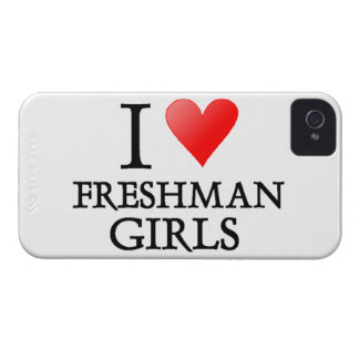 I Heart Freshman Girls iPhone 4 Case