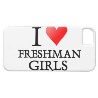 I Heart Freshman Girls iPhone SE/5/5s Case