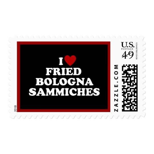 I Heart Fried Bologna Sammiches Postage