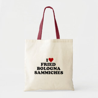 I Heart Fried Bologna Sammiches Tote Bag