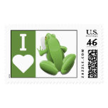 I Heart Frogs Stamps