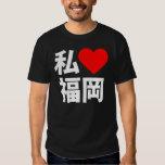 i heart fukuoka t shirts