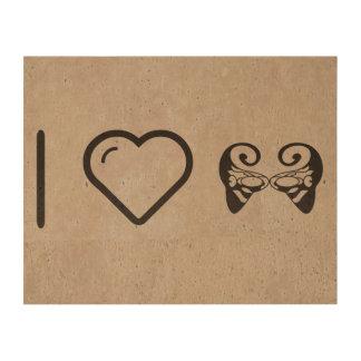 I Heart Funny Beauties Queork Photo Print