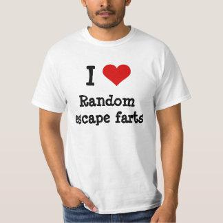 I heart funny random escape farts T-Shirt