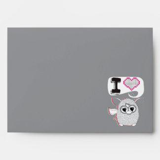 I Heart Furby Envelope