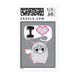 I Heart Furby Postage