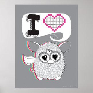 I Heart Furby Poster