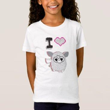 Valentines Themed I Heart Furby T-Shirt