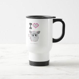 I Heart Furby Travel Mug