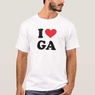 I Heart GA - Georgia T-Shirt