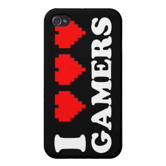 I Heart Gamers iPhone 4/4S Case