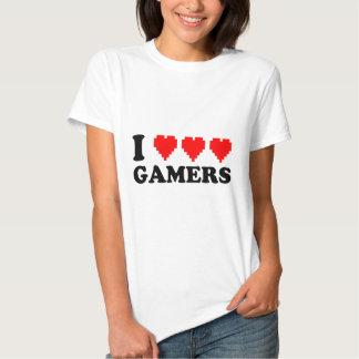 I Heart Gamers Tee Shirt