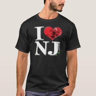I (heart) gaNJa (plant, dark) T-Shirt