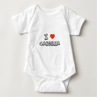 I Heart Gardena Baby Bodysuit