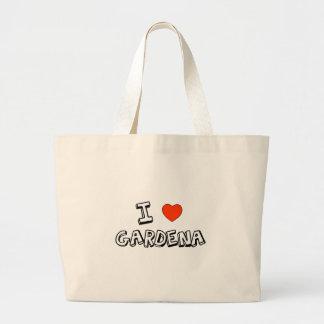 I Heart Gardena Large Tote Bag