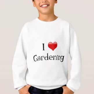 I Heart Gardening Sweatshirt