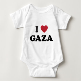 I Heart Gaza Palestinian Baby Bodysuit
