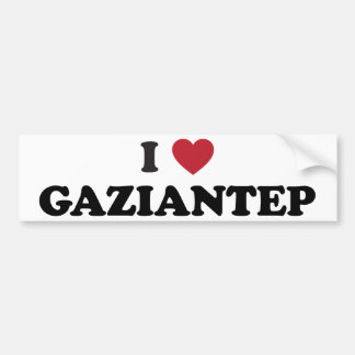 I Heart Gaziantep Turkey Bumper Sticker