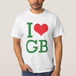 i heart gb T-Shirt