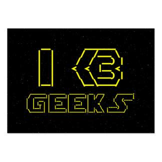 I Heart Geeks ASCII ART Business Cards