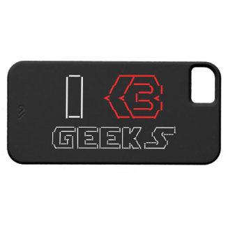 I Heart Geeks ASCII ART iPhone SE/5/5s Case