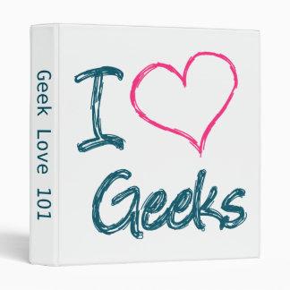 I Heart Geeks Binder