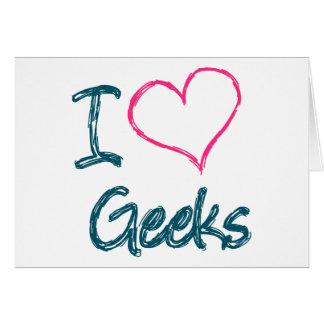 I Heart Geeks Card