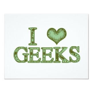 I Heart Geeks Invitation