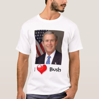 I Heart George Bush T-Shirt